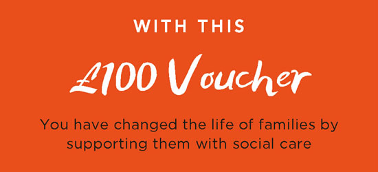 Friends of NCF - £100 Gift Voucher